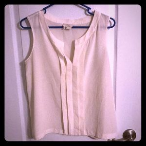 KATE SPADE - ivory silk blouse